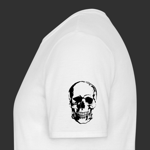 Men's Skull on Sleeve T-Shirt V2 - Men's T-Shirt