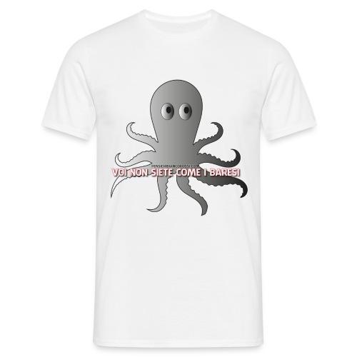 T-Shirt unisex Voi non siete come i baresi - Maglietta da uomo