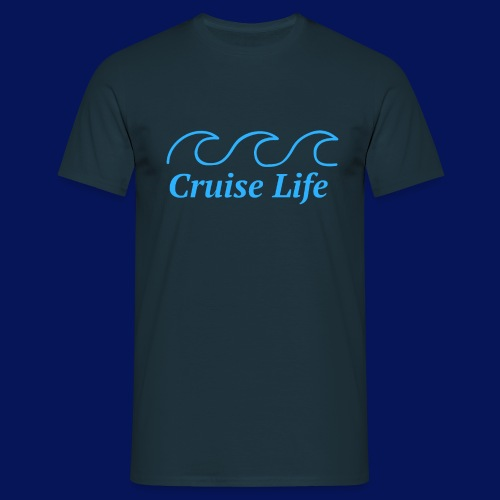 'Cruise Life' Mens T-shirt - Men's T-Shirt