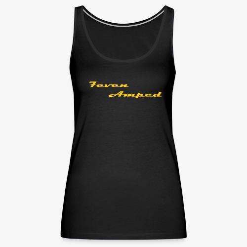 7A Damen Premium TankTop schwarz - Frauen Premium Tank Top
