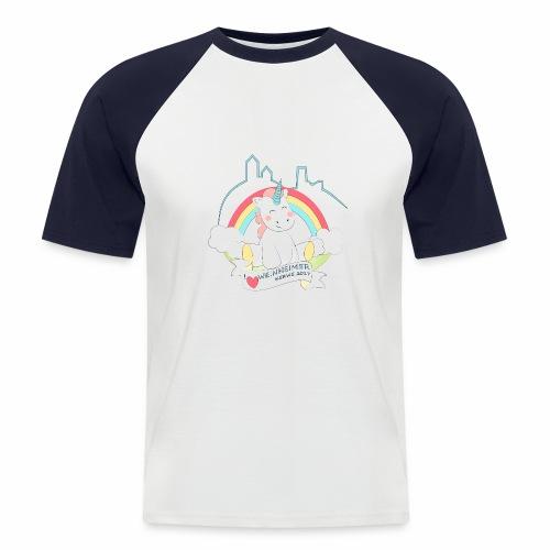 Herren E - Männer Baseball-T-Shirt