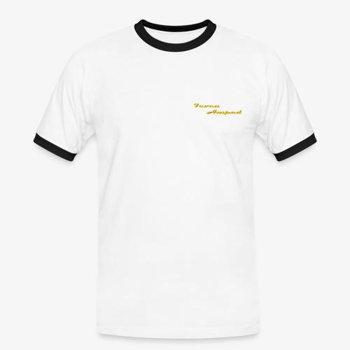 7A Männer Kontrast T-Shirt - Männer Kontrast-T-Shirt