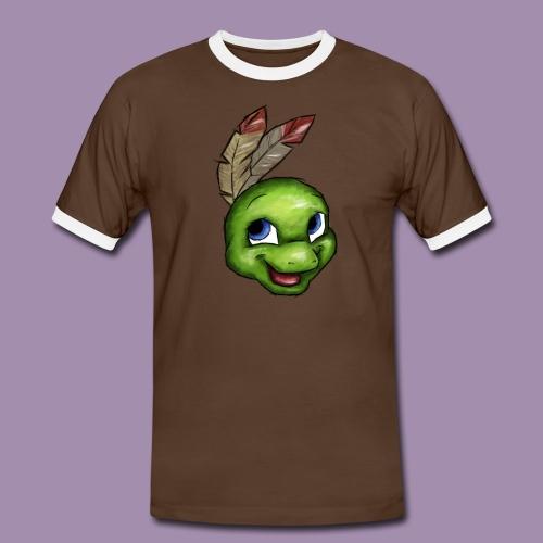 Männer Kontrast-T-Shirt