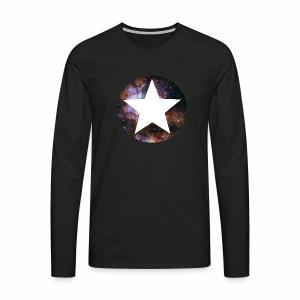 Stardust Stern - langarm Shirt - Männer Premium Langarmshirt