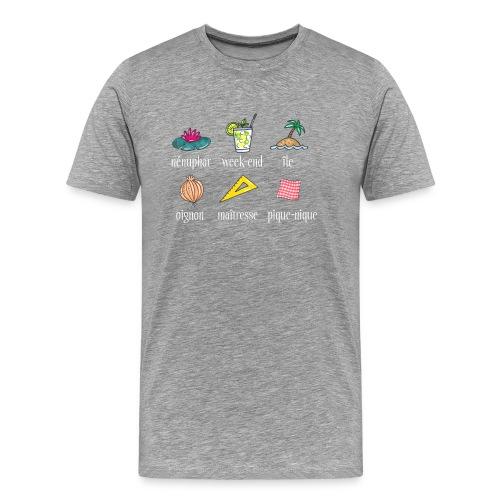 T-shirt homme - réforme orthographe - T-shirt Premium Homme