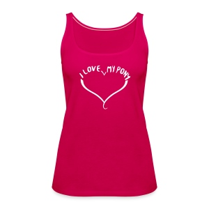 I love my Pony - Top - Frauen Premium Tank Top
