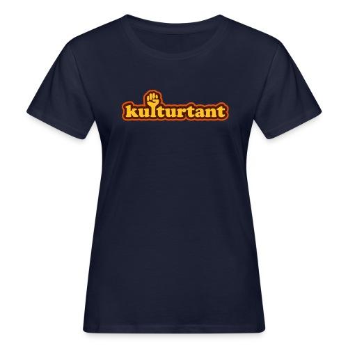 KULTURTANT - Ekologisk T-shirt dam