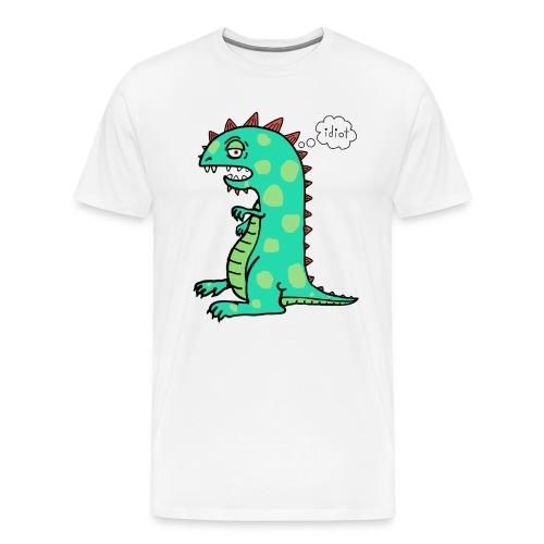 Squishy The Exasperated Dinosaur - Men's Premium T-Shirt