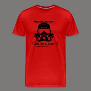 Warum tauchen? - Männer Premium T-Shirt