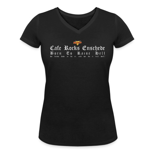Born To Raise Hell (Ladies) - Vrouwen bio T-shirt met V-hals van Stanley & Stella