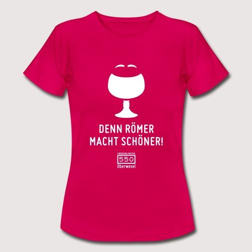 T-Shirt Rheinkilometer 550 - Frauen T-Shirt