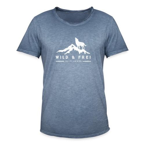 Wild & Frei - Festival - Männer Vintage T-Shirt