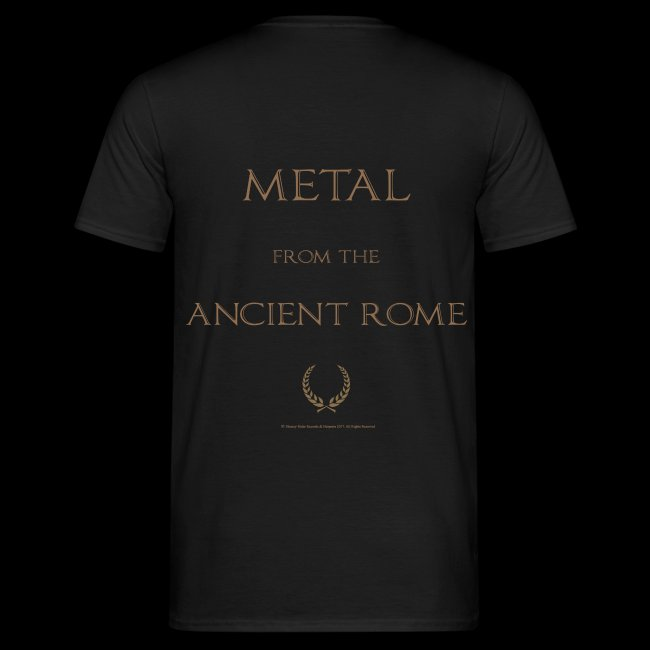HESPERIA Caesar - Metal from the Ancient ROME T-Shirt