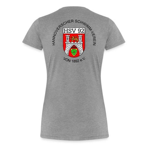 Vereins-T-Shirt, weiß, Frauen - Frauen Premium T-Shirt