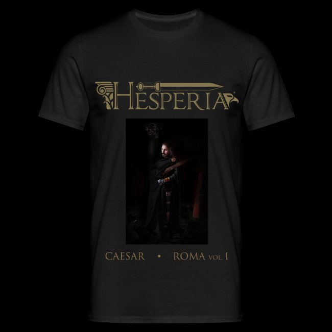 HESPERIA Caesar - The italic past is Alive T-Shirt