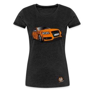 Michele Tiger girly T-Shirt + kleines Logo - Frauen Premium T-Shirt