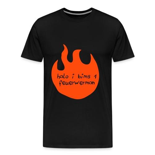 feuerwerman Shirt - Männer Premium T-Shirt