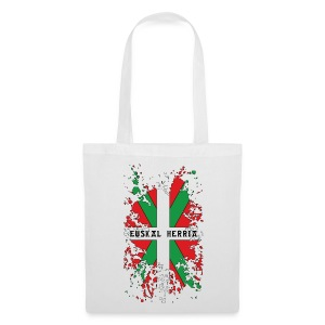 Ikurriña, drapeau Basque - Tote Bag