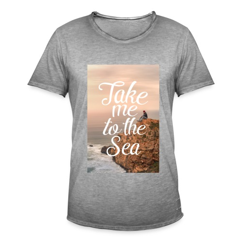 Take me to The Sea, Vintage - Männer Vintage T-Shirt