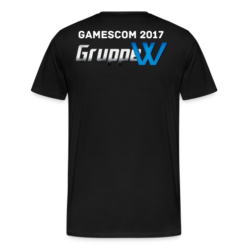 Premium T-Shirt Gamescom 2017 Version 2 - Männer Premium T-Shirt