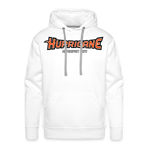 Official Hurricane Crew Sweat - Sweat-shirt à capuche Premium pour hommes