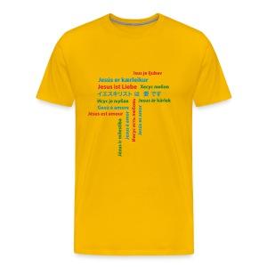 Jesus 01 - Männer Premium T-Shirt