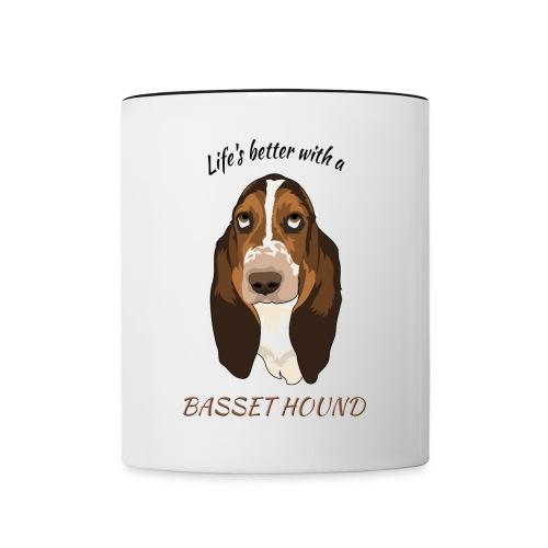 Life's better Mug - Tasse zweifarbig