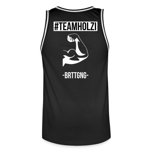 Team Holzi Tanktop - Männer Basketball-Trikot