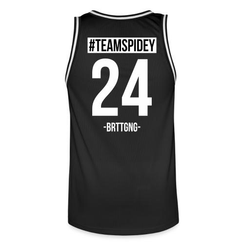 Team Spidey Tanktop - Männer Basketball-Trikot