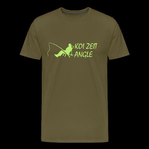 Koi Zeit - Angle - Männer Premium T-Shirt