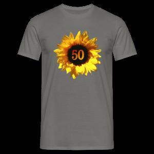 Sonnenblume 50. Geburtstag T-Shirts