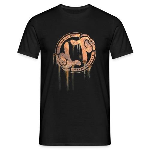 LDT Rusty Ring - front print tee - Men's T-Shirt