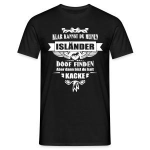 Isländer - Shirt Männer - Männer T-Shirt