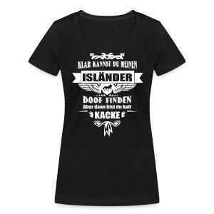 Isländer - Shirt V - Frauen Bio-T-Shirt mit V-Ausschnitt von Stanley & Stella