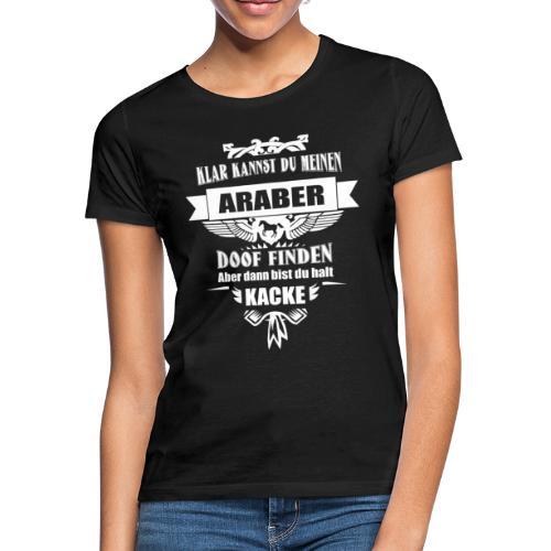 Araber - Shirt  - Frauen T-Shirt