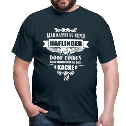 Haflinger - Shirt Männer - Männer T-Shirt