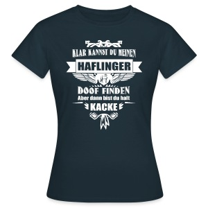 Haflinger - Shirt  - Frauen T-Shirt