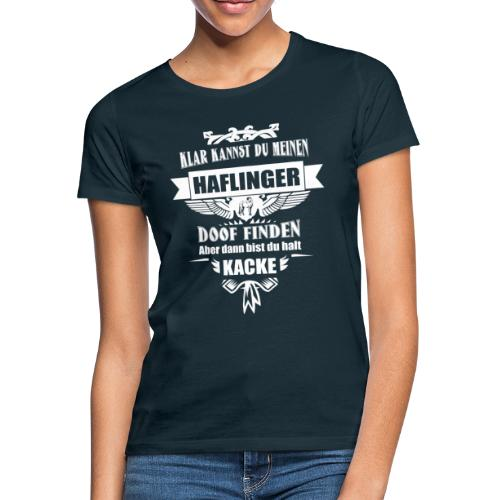 Haflinger - Shirt  - Frauen T-Shirt