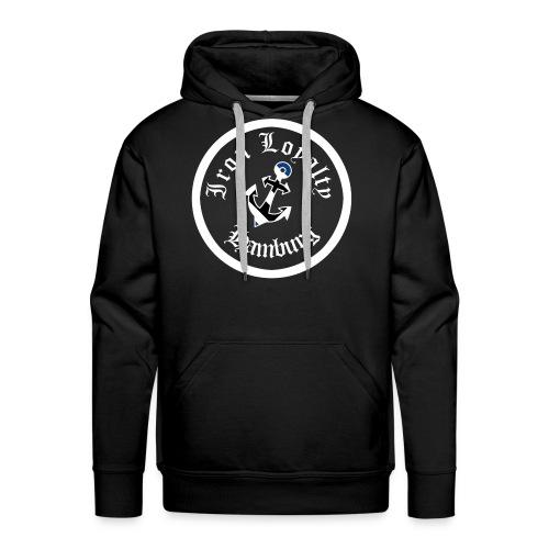 Iron Logo Hoodie - Männer Premium Hoodie