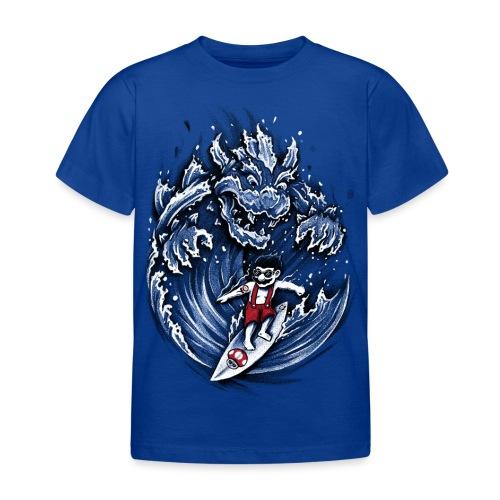 Surfing Mario - Kids' T-Shirt
