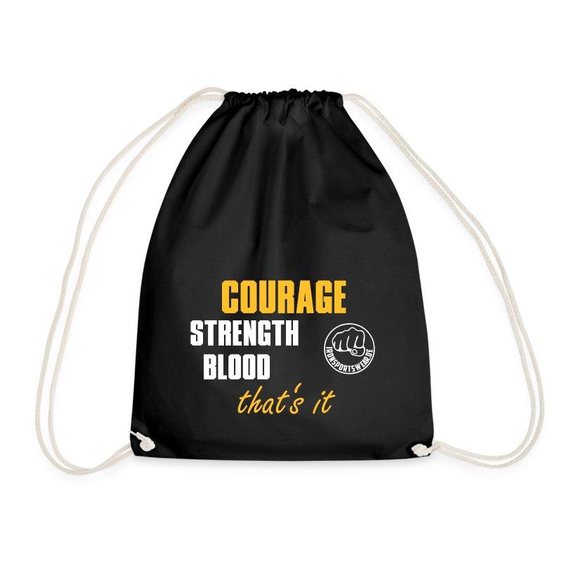 CourageStrengthBlood - Turnbeutel