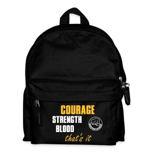 CourageStrengthBlood - Kinder Rucksack