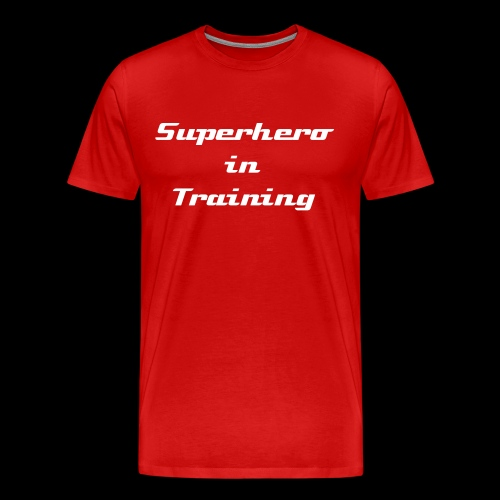 Hero in Trainng - Men's Premium T-Shirt