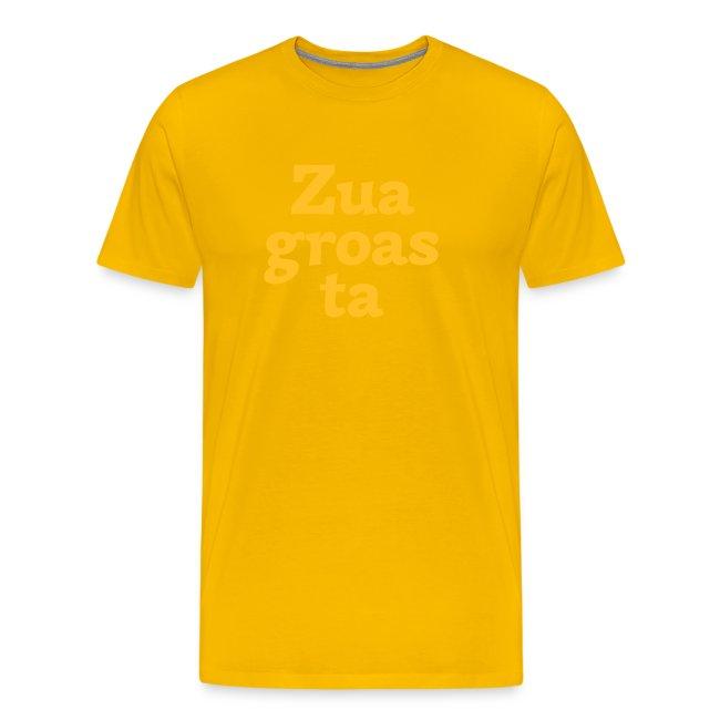 Grantl-Shirt Zuagroasta braun