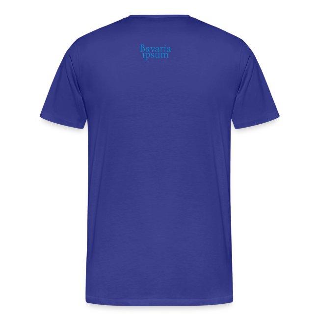 Grantl-Shirt Aushuifsbaya weiß-blau