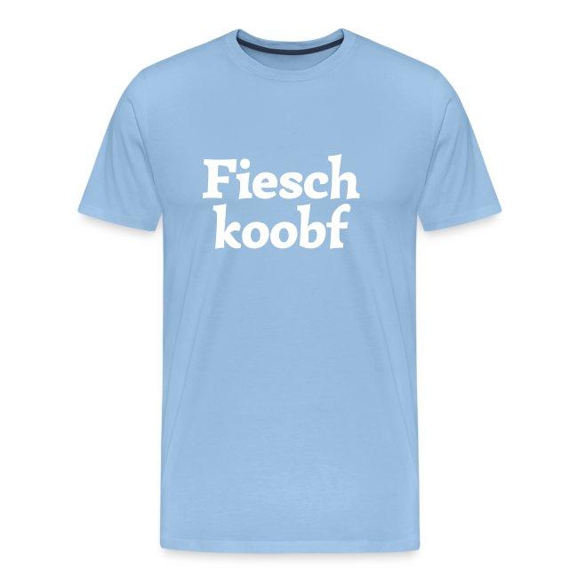Grantl-Shirt Fieschkopf goldgelb