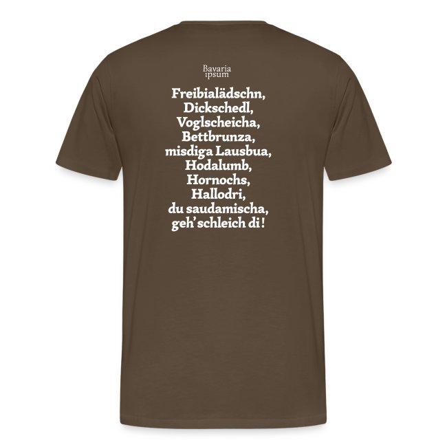 Grantl-Shirt #2 goldgelb