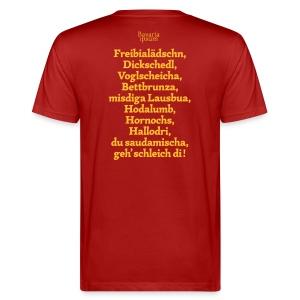 Grantl-Shirt #2 cranberry - Männer Bio-T-Shirt