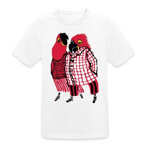 Parrot Promenade - Men's Breathable T-Shirt