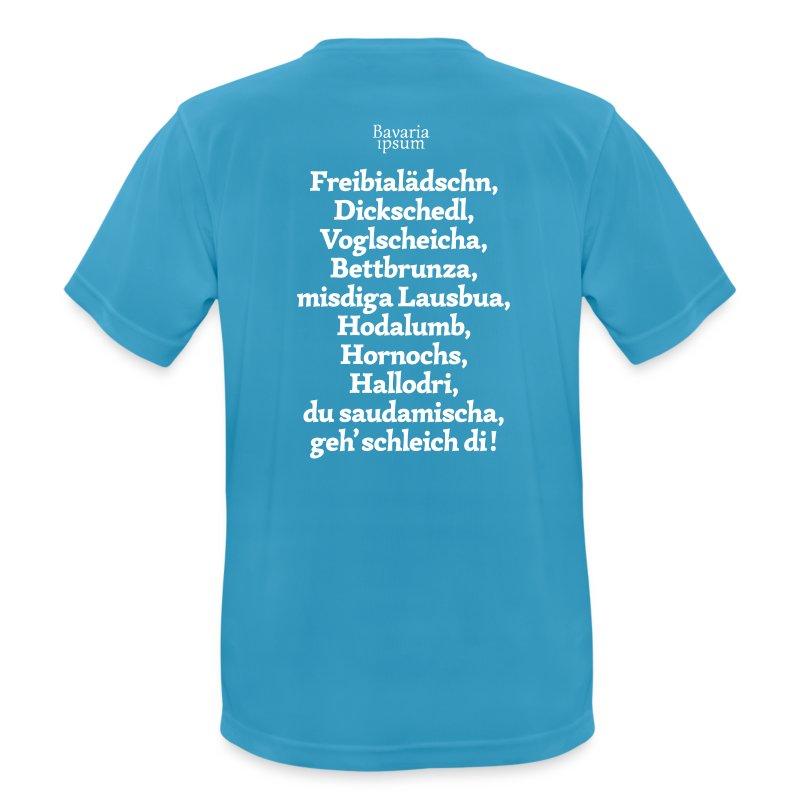 Grantl-Shirt #2 hellblau - Männer T-Shirt atmungsaktiv